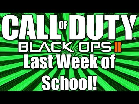 Black Ops 2 | Last Week of School (BO2 League Play)