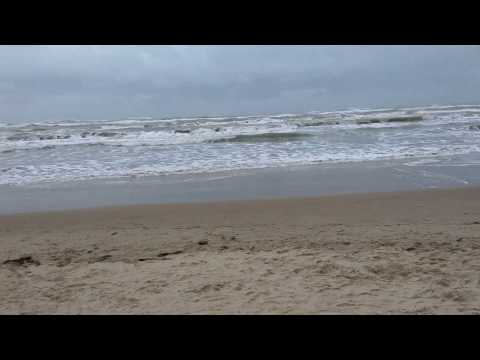 Waves at South Padre Island Beach - Thanksgiving 2018