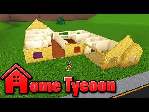 BUILDING A HOUSE in Home Tycoon!! - Roblox