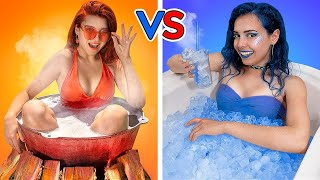 Hot Va Cold Funny Pranks Challenge Ideas Funny Situations Types Of People Awkward Moments