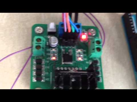 BiPolar Stepper with L298 Dual H-Bridge Motor Controller & Arduino