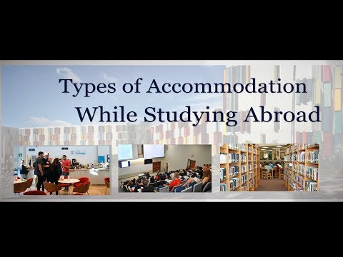 Types of Accommodation While Studying Abroad