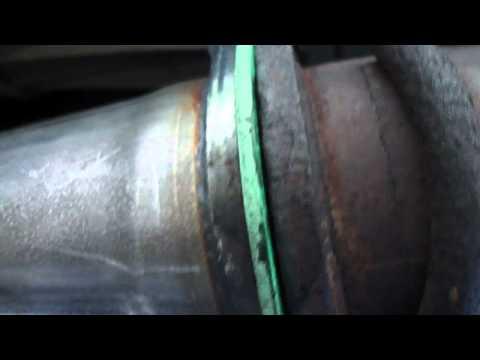 exhaust leak at cat flange