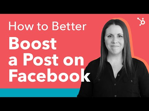 How to Boost Posts on Facebook, Better