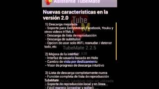 descargar tubemate gratis para android 2.2.9