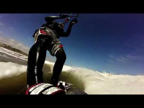 Kitesurfing North Bay Scarborough UK, ITS ME!!