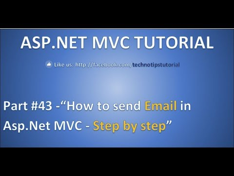 Part 43 - How to Send Email in ASP.NET MVC | Step-by-Step guide for Beginners and Professionals