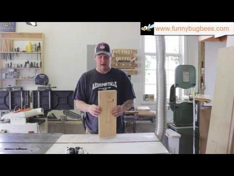 HowTo: Build Langstroth frames with only a table saw pt 3 of 3 - end bars