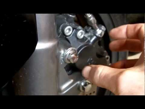 How to bleed your front/rear brake calipers on your motorbike/motorcycle