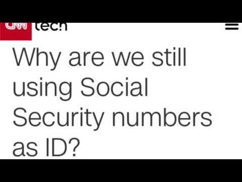 EQUIFAX data breach *False Flag?* Propaganda to rid of Social Security Number