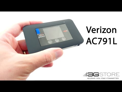 Verizon Netgear Jetpack AC791L Unboxing and Overview