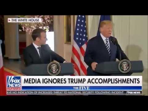 Trump - Macron Friendship Takes Center Stage