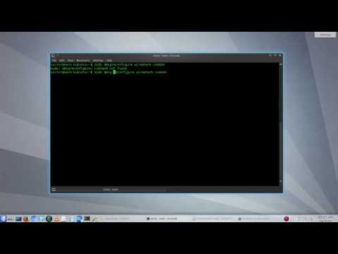 UBUNTU AS ROUTER WITH WEBMIN + MONITOR WIRELESS TRAFFIC WITH WIRESHARK (part 05 / 05)