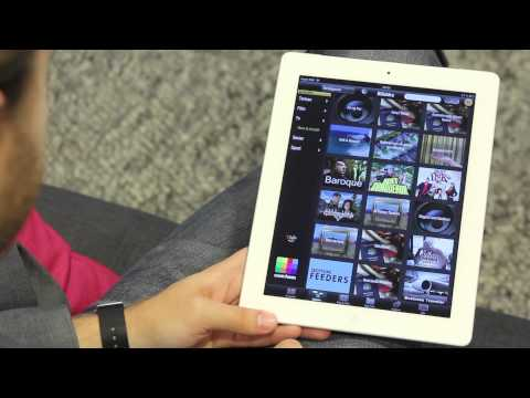 Com Hem TiVo ToGo på iPad