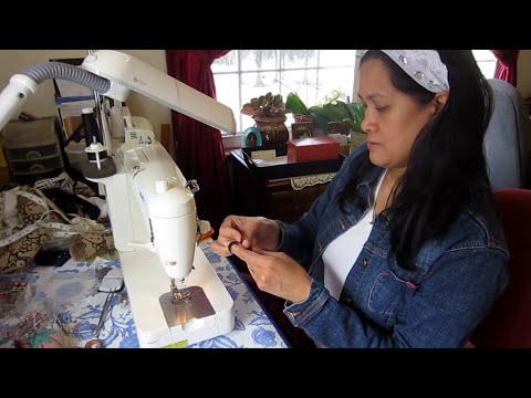 Making A Simple Hair Tie - Scrunchie