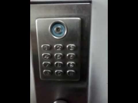 Keypad lock.how to change code?