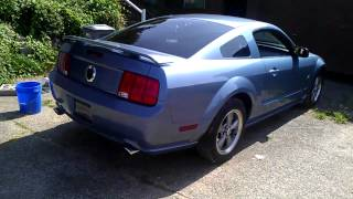 06 mustang gt straight pipe