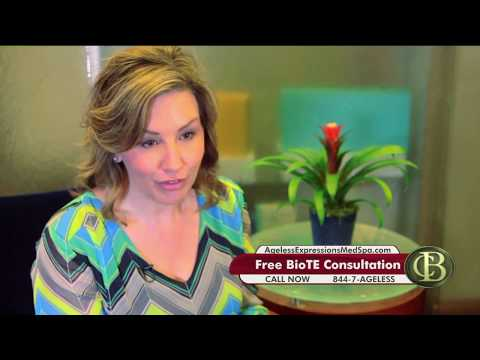 BioTe is a natural way to have hormone replacement therapy done with out creams or side effects.