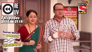Weekly Reliv|Taarak Mehta Ka Ooltah Chashmah| 9th Jan to 13th Jan 2017 | Episode 2111 to 2115