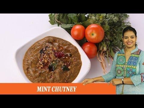 MINT CHUTNEY - Mrs Vahchef