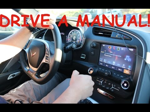 HOW TO DRIVE A MANUAL CAR EASY WITH THIS SECRET  (BRAND NEW 2016 Corvette Z06)