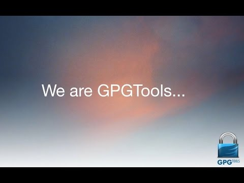 GPGTools – OpenPGP on OS X (Introduction to GPG Suite)
