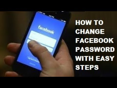 Change Facebook (FB) Password in Mobile/PC 2018 (100% Working Method)