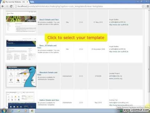 How to edit site template in Joomla! 2.5