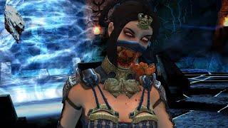 Mortal Kombat X Mobile - Final BOSS Assassin Kitana. Selfie Fatality [HD/HQ 60fps; Android/iOS]