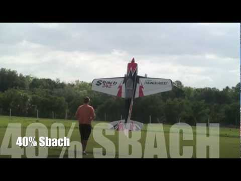Michael Wargo test Flies The Pilot RC 40% Sbach with Smoke System