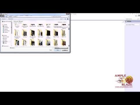 How to Insert a Picture using Microsoft OneNote 2013