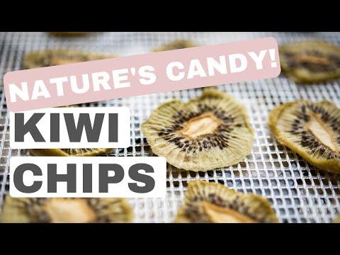 Kiwi Chips (Paleo, gluten-free snack recipe)
