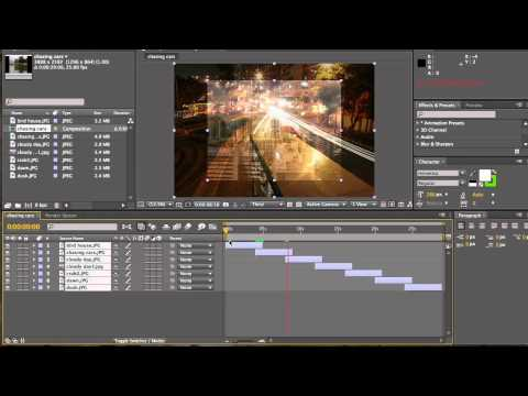 How To Make A Slideshow With After Effects