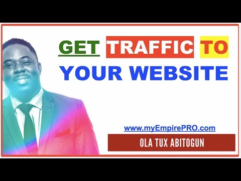 Attention, Exposure & WEB TRAFFIC - How to Get Traffic to Your Website