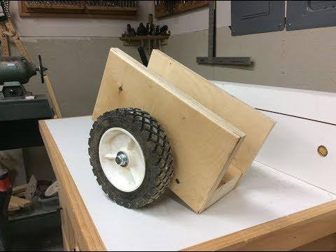 How to Make Dolly to Handle Heavy doors and Plywood Easily