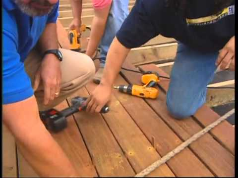 Building the Roof Deck With Ipe