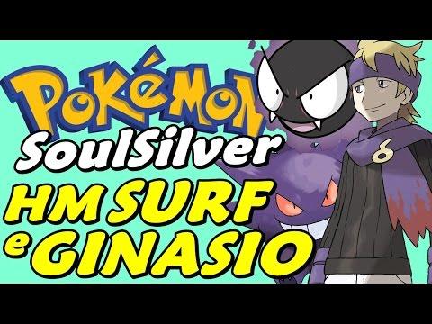Pokémon SoulSilver (Detonado - Parte 10) - HM Surf e O Ginásio Fantasma do Morty
