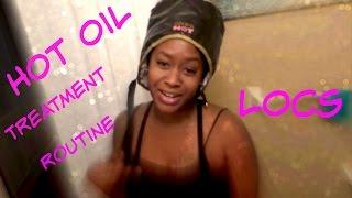 Hot Oil Treatment On Locs Jenuinelover