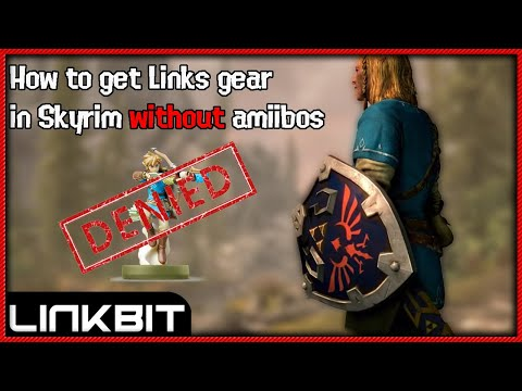 HOW TO GET LINKS OUTFIT+GEAR IN SKYRIM WITH NO AMIIBO!