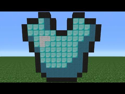 Minecraft Tutorial: How To Make A Diamond Chestplate