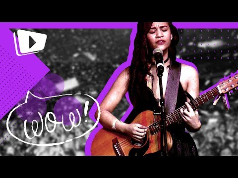 Damielou BARES HER SOUL on her song
