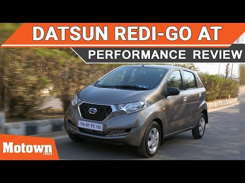 2018 Datsun Redi Go AMT | First Drive | Motown India