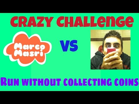 Subway Surfers CRAZY CHALLENGE: Run without Collecting Coins   Marco Masri vs KDM