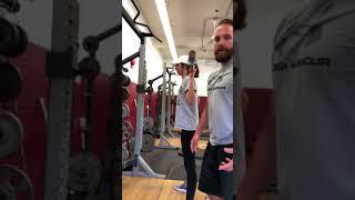 Download Matt Lauria Back Squat Video