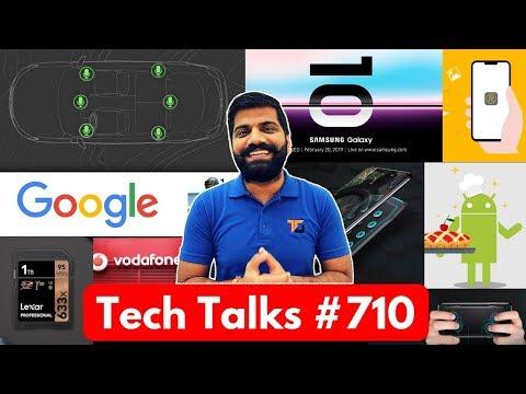 Tech Talks #710 - S10 Launch Date, 1TB SD Card, ISRO Gaganyaan, Realme Update, Vivo Phone
