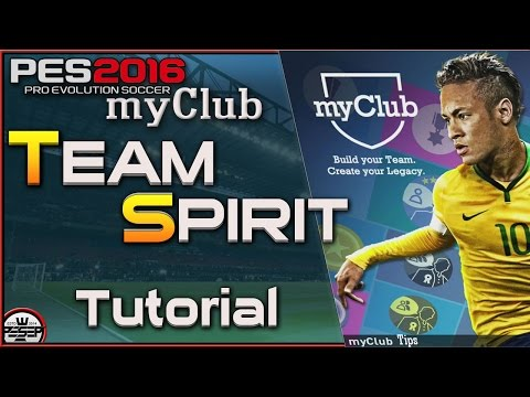 PES 2016 myClub Team Spirit Tips ( How to get High TS)