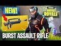 Fortnite NEW Gun Update Burst Assault Rifle Gameplay Fortnite Battle Royale
