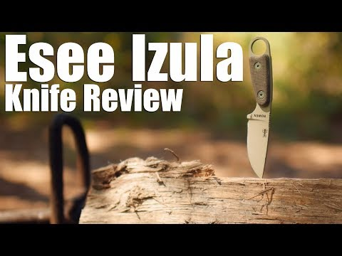 Esee Izula Knife Review.  A cute capable fixed blade classic.