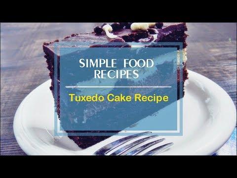 Tuxedo Cake Recipe