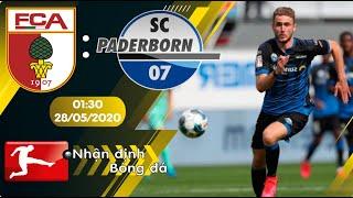 Nhận định, soi kèo Augsburg vs Paderborn 01h30 ngày 28/05 - vòng 28 - Bundesliga 2019/2020